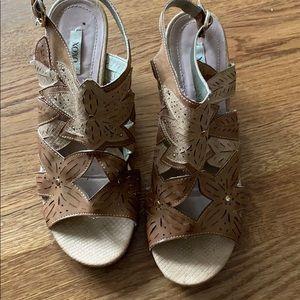 XOXO Wedge Sandals